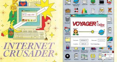 "Yaratıcı 90'lar nostaljisi: ""Internet Crusader"""
