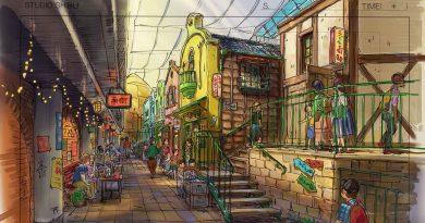 """Ghibli Theme Park""tan yeni konsept çizimleri"