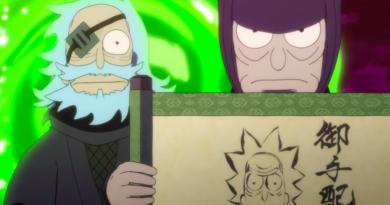 """Rick and Morty""den anime soslu kısa film"