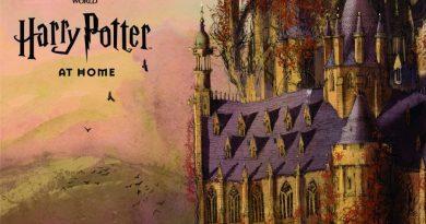 J.K. Rowling, Hogwarts'ı evinize getiriyor