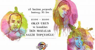 """Kendine Has """"Konuşmalar"""" #2: Okan Urun'un konukları İris Mozalar ve Salih Topçuoğlu"""