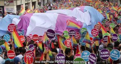 2013'ten bugüne Türkiye'de Onur Yürüyüşünün seyri