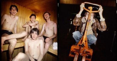 Arşivden: Steve Gullick'in gözünden 1991 Blur Leisure turnesi