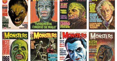 """Kaptan Zaman: 1958'de yayına başlayan efsanevi """"Famous Monsters of Filmland"""" dergisi"""