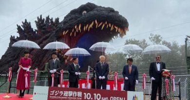 Japonya'nın Awaji Adası'nda Godzilla müzesi açıldı