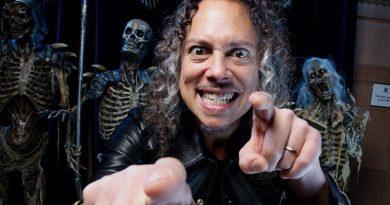 Kirk Hammett'ın film gibi şarkıları