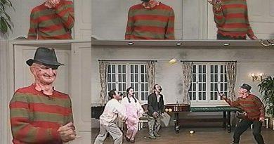 Kaptan Zaman: Robert Englund'un Freddy Krueger'ı 1987'de Japonya televizyonunda