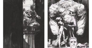 Sean Gordon Murphy'nin orijinal Batman çizimlerinden oluşan online sergi