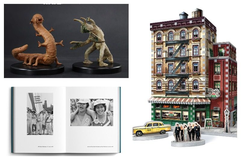 """3D """"Friends"""" puzzle'ı, Star Wars Holochess figürleri, JEB'in """"Eye to Eye"""" kitabı #spot"""