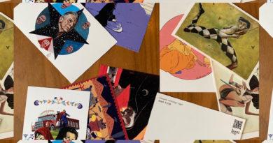 Kartpostallar yangından etkilenen canlar için
