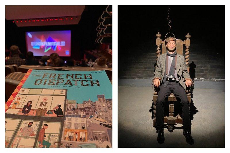 """""""The French Dispatch""""in Londra'daki galası ve lansman etkinliklerinden izlenimler"""