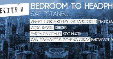 "Partapart Records'un ""Bedroom to Headphones"" semineri bu akşam SAE İstanbul'da!"
