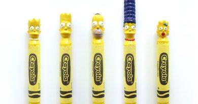 """""""The Simpsons""""tan """"Sponge Bob""""a, kült karakterlerin mum boya heykelleri!"""