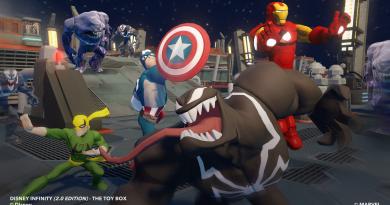 """Disney Infinity 2.0: Marvel Super Heroes"" oyunundan fragman!"