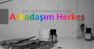 """Erkin Gören'den yeni sergi: """"Arkadaşım Herkes"""""""