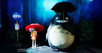Güney Kore'deki Studio Ghibli sergisinden fotoğraflar