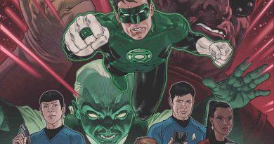 """""""Star Trek"""" ve """"Green Lantern""""ı aynı evrende buluşturan bir çizgi roman geliyor"""