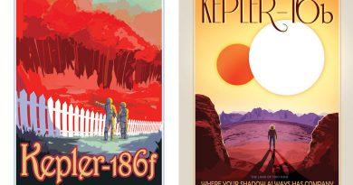 NASA'dan Kepler'i kutlamak için üç nefis poster