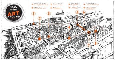 Karaköy'ün 8 farklı mekanında, farklı disiplinlerden 8 eser!
