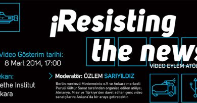 ¡Resisting the news! Video-Eylem Atölyesi 5-8 Mart'ta Ankara'da