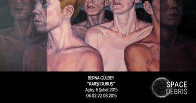 """Berna Gülbey'in """"Karşı Duruş"""" sergisi 6 Şubat'ta Space Debris'te açılıyor"""