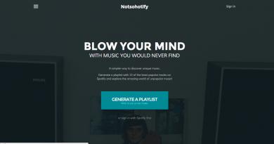 """Az bilinen müziğin yeni uygulaması: """"Notsohotify"""""""