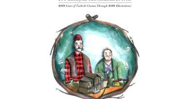 """""""100 İllüstrasyonla Türk Sinemasının 100. Yılı"""" sergisi, 15 Mart'a kadar TÜRVAK Sinema-Tiyatro Müzesi'nde"""