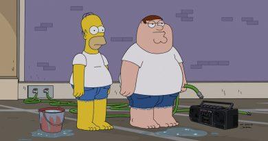"""""""Family Guy meets The Simpsons"""" özel bölümünden yeni kareler"""