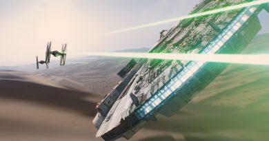 """""""Star Wars: The Force Awakens""""ın Millenium Falcon'undan yeni fotoğraf"""