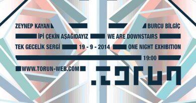 """Torun'da tek gecelik sergi: """"İpi Çekin Aşağıdayız"""""""