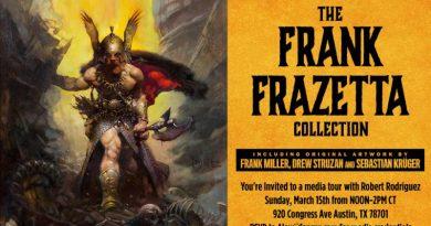 SXSW'den: Robert Rodriguez kuratörlüğünde nefis bir Frank Frazetta sergisi